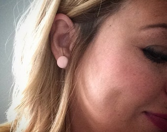 Peach Bud Earrings