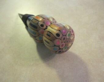 Colored Pencil Winestopper