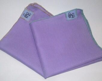 A Lavender Pocket Square