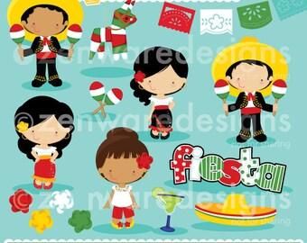 Cinco de Mayo Fiesta Clipart