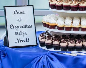 PartyGirlProducts- Love and Cupcakes Digital File