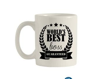 Best boss mug, 11oz. ceramic mug, funny mugs, funny coffee mugs, coffee mugs, unique coffee mugs, custom mug. M00041