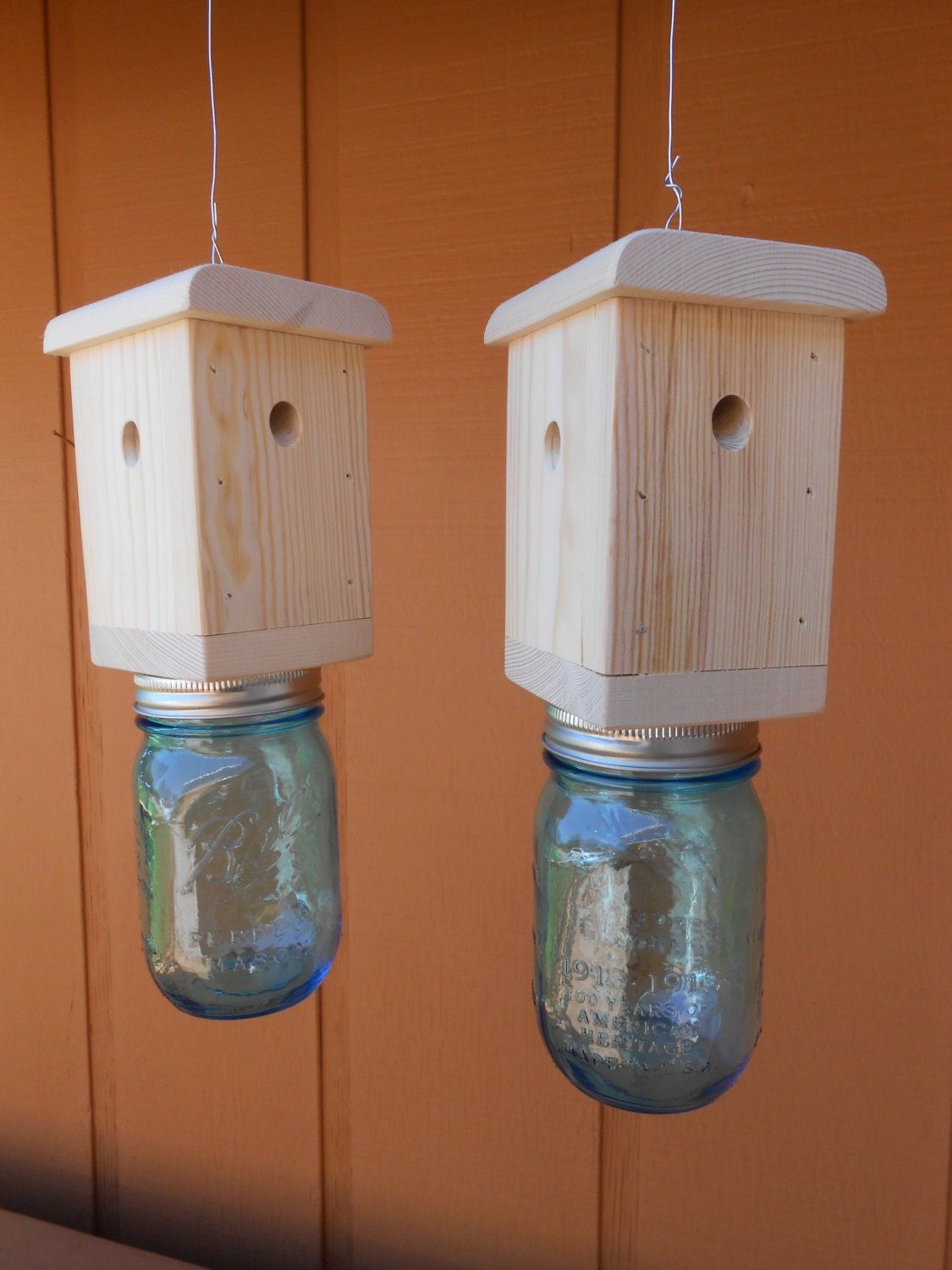 2 Carpenter Bee Traps Wood Boring Bee Traps By