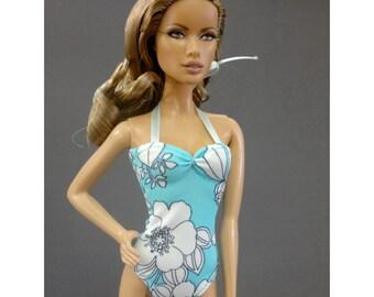 Barbie doll bikini swimsuit, swimwear, clothes - No.014