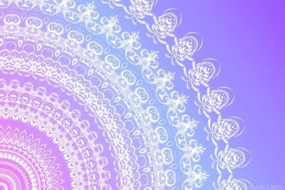 ombre mandala wallpaper - photo #12