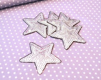 Patch Star Silver