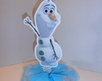 Olaf centerpiece - double sided