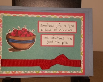 Bowl of Cherries Card
