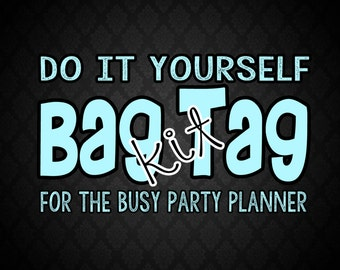 Bag Tag Kit: Includes Custom Made Tags, Professionally Trimmed and 4x6 Cello bags
