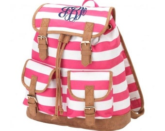Monogrammed Bookbag - Monogrammed Backpack - Back to School - Other Styles Available