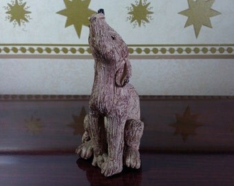 SALE COYOTE - Hand Sculpted -  Playfulness, Trickster, Jokester, Adaptability