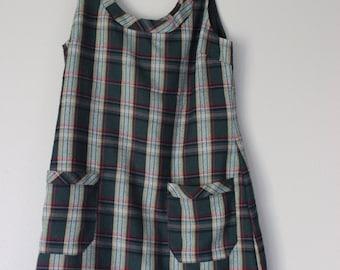 90s plaid dress