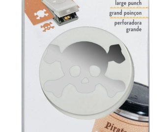 EK Success Large Punch -Pirate Skull-  CLOSEOUT SALE