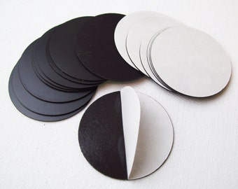 "Round 1-7/8"" Magnets with Peel and Stick Adhesive MAGNETS ONLY - 400 pcs"