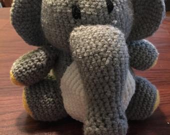 Crochet stuffed animal - elephant