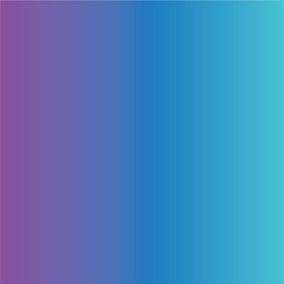 Purple Blue And Aqua Ombre Print Heat Transfer Vinyl
