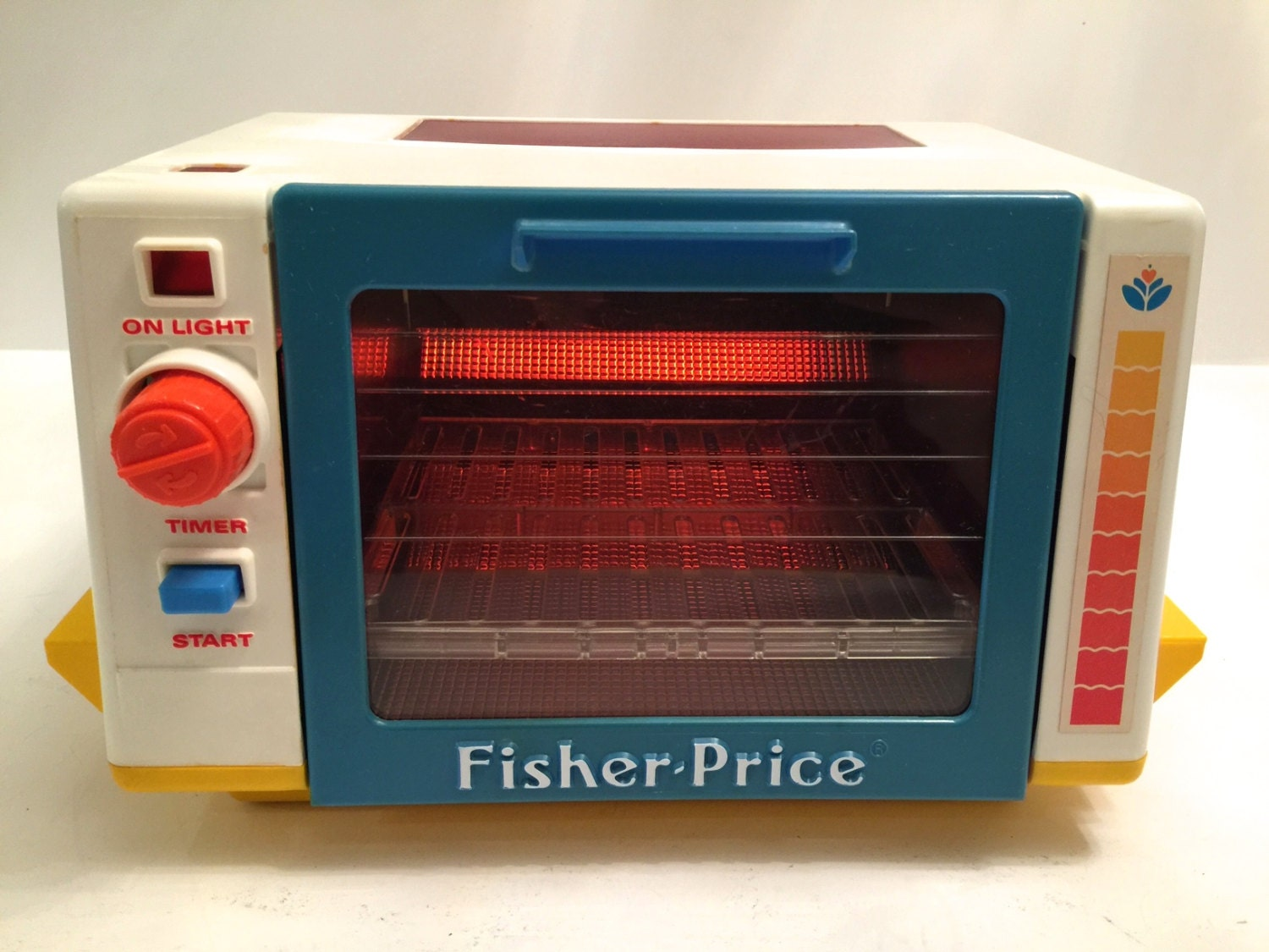1987 vintage fisher price fun with food toaster by - Cuisine fisher price bilingue ...