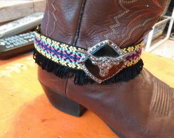 Boot bracelet one of a kind