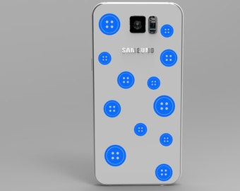 Buttons Phone Decal