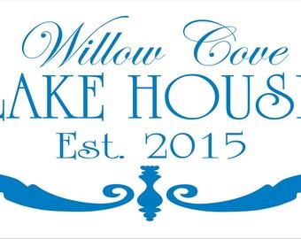Custom Lake House Signs Etsy