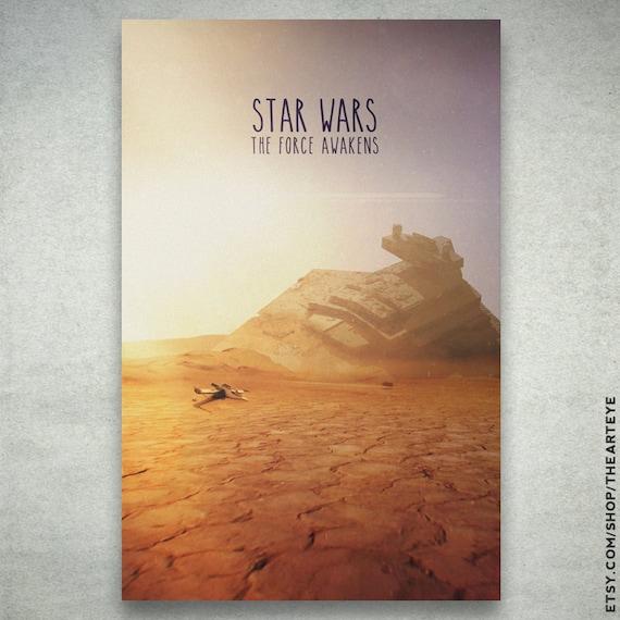 Star Destroyer Crashes on Tatooine Crashed Star Destroyer in