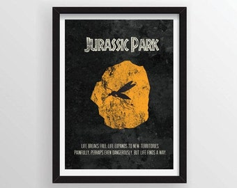 Jurassic Park Movie Poster - A3 and 13 x 19 Available