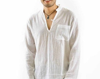 Mens linen drawstring baggy look pants plus size for Linen shirts for mens in chennai