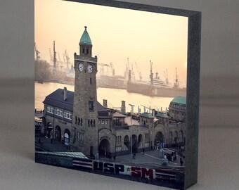 Hamburg on wood - piers 1