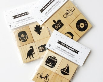 Toronto Wooden Magnets / magnets wooden Toronto