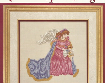 VTG Kindred Spirit Angel Cross Stitch Pattern by Consuella Molto for Just CrossStitch