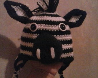 Infant Zebra Hat
