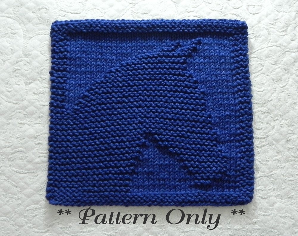 Knitting Pattern HORSE PDF Instant Download Easy Knitting