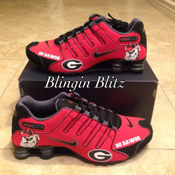 Blingin Blitz Razorback Nike Shoes