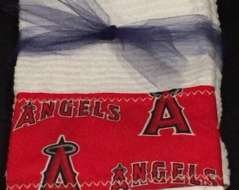 MLB Angels Hand Towels