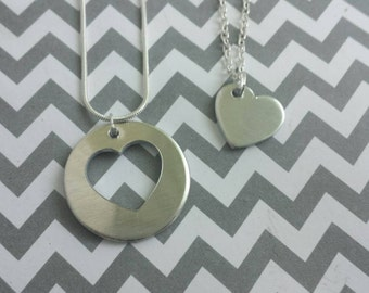 Mother/ Daughters Necklace Set
