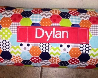 Personalized Preschool Kinder Nap Mat In Girl By