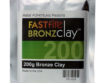 FASTfire BronzClay 200g Package  (MCB205)