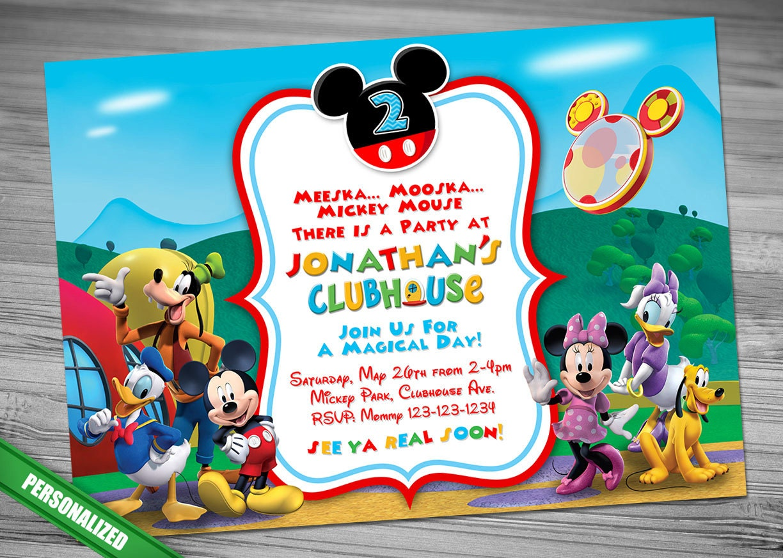 free mickey mouse invitation templates polka dots bagvania free