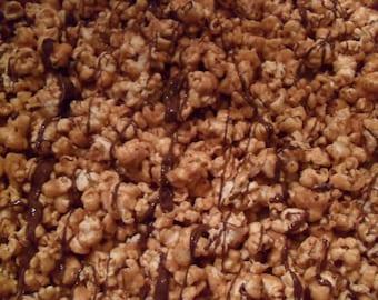 PEANUT BUTTER & CHOCOLATE Caramel Corn Popcorn!!! (1 lb)