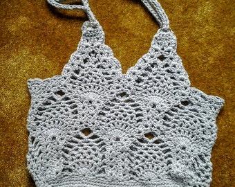 Crochet Pineapple Market Bag / Crochet Pineapple Tote Bag / Crochet Pineapple Shopping Bag