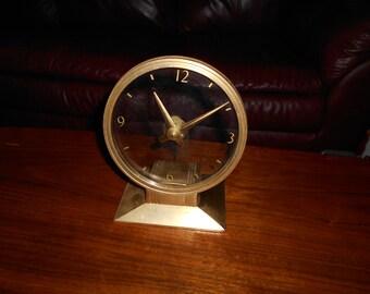 Art Deco clock  Golden Visionette No 90  Patent Pending