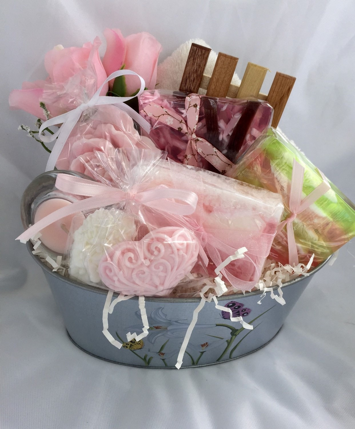 Mothers Day Gift Basket Mothers Day Soap Gift Basket