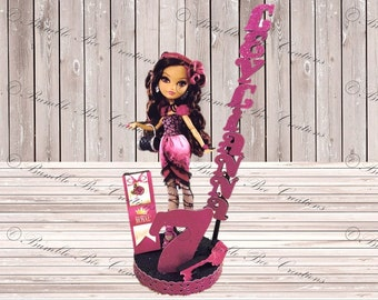 Cake Toppers - Birthday Centerpiece - Ever After High Centerpiece 3D - Briar Beauty - Royal