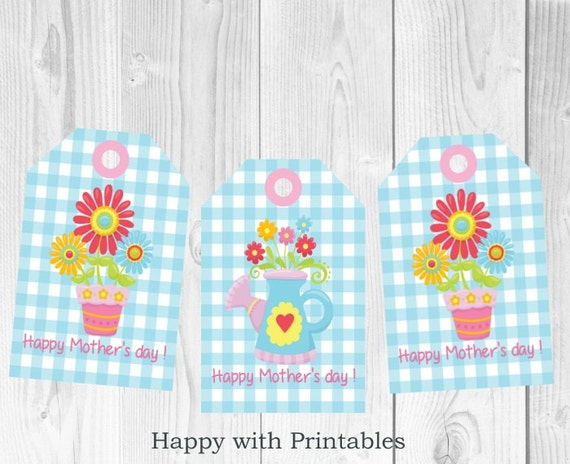 Mother S Day Tags: Mother's Day Gift Tag Printable Mother's By
