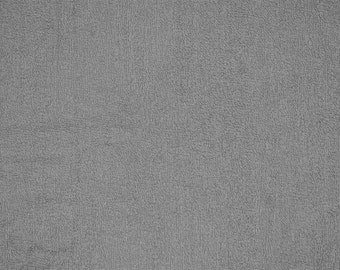 Terry Cloth in Charcoal 10oz by Shannon Fabrics