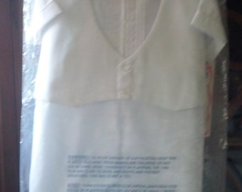 Vintage Baby Boy christening clothes.