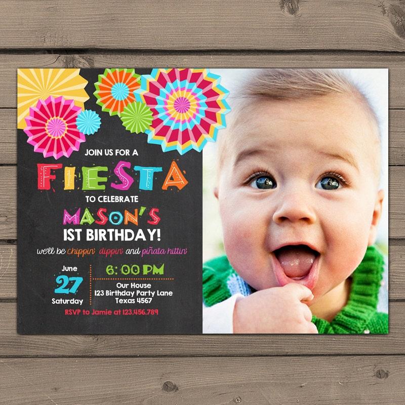 Fiesta Birthday Invitations – gangcraft.net