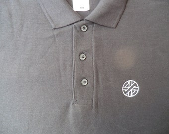 Embroidered Crass Polo Shirt