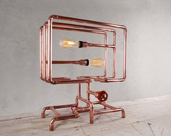 RADIATORO Copper Table Lamp