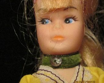 Hard plastic doll